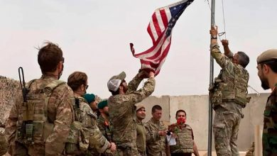 A handover ceremony from the U.S. Army to the Afghan National Army was held at Camp Anthonic in Helmand province on May 2. PHOTO: /ASSOCIATED PRESS